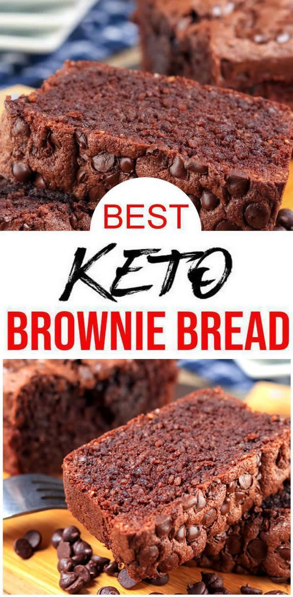 BEST Keto Bread! Low Carb Chocolate Brownie Loaf Bread Idea – Quick & Easy Ketogenic Diet