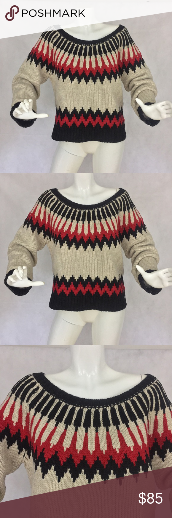 Ralph Lauren Denim Supply Fair Isle Sweater L | Fair isles and ...