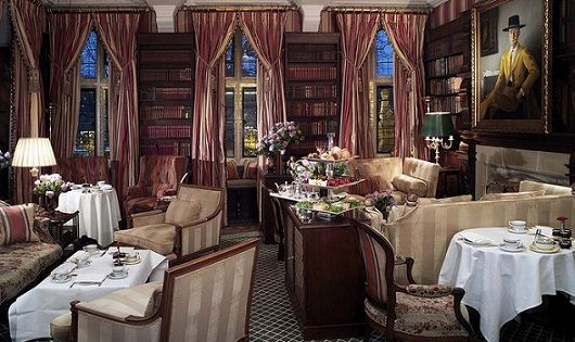 Afternoon Tea in the inviting Park Lounge at The Milestone Hotel, London