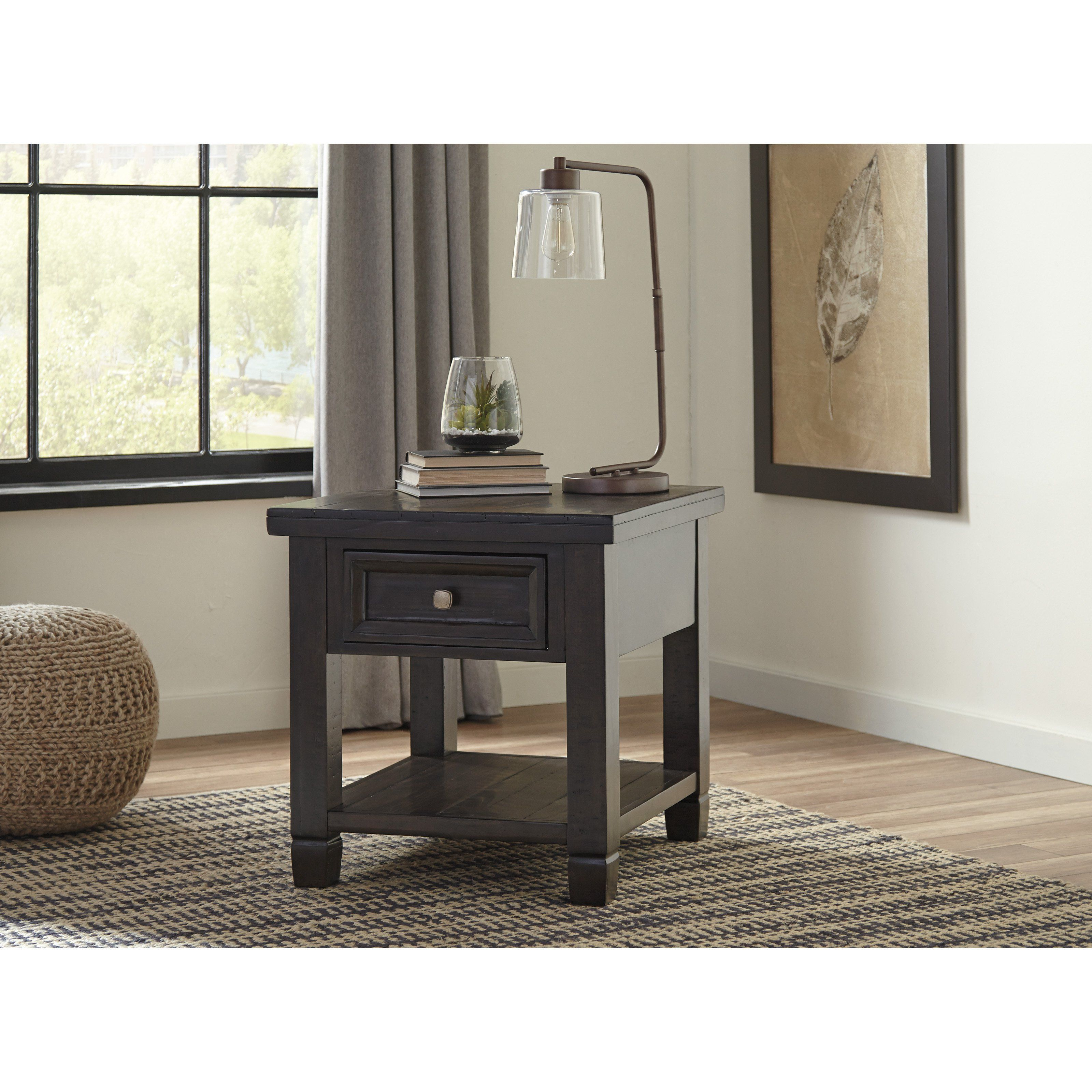 Signature Design By Ashley Townser Rectangular End Table T895 3