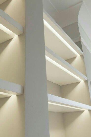 Pin By Strock Design Remodel On Decor Closet Lighting Interior Lighting Shelf Lighting