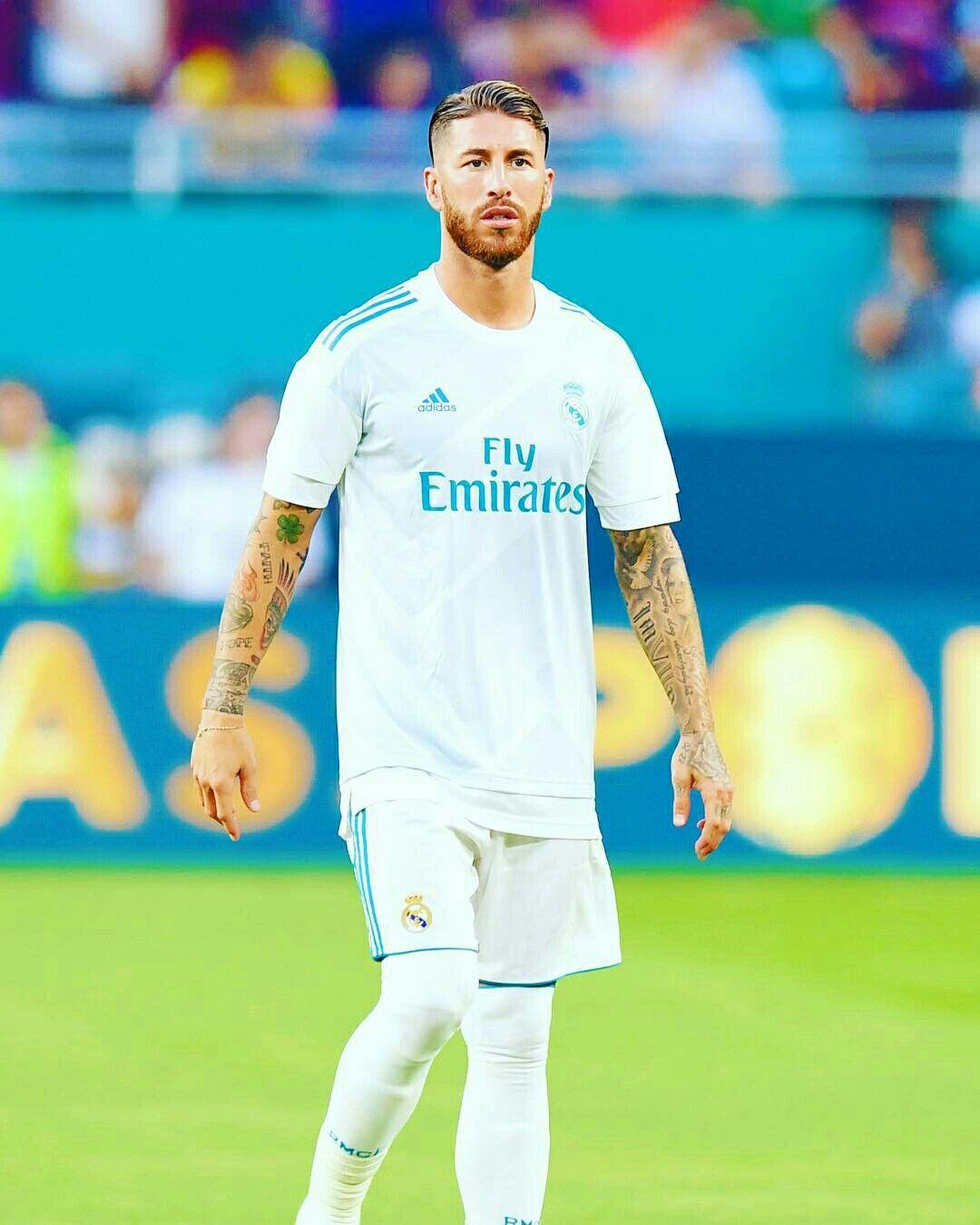 Sergio Ramos Real Madrid futbal Pinterest