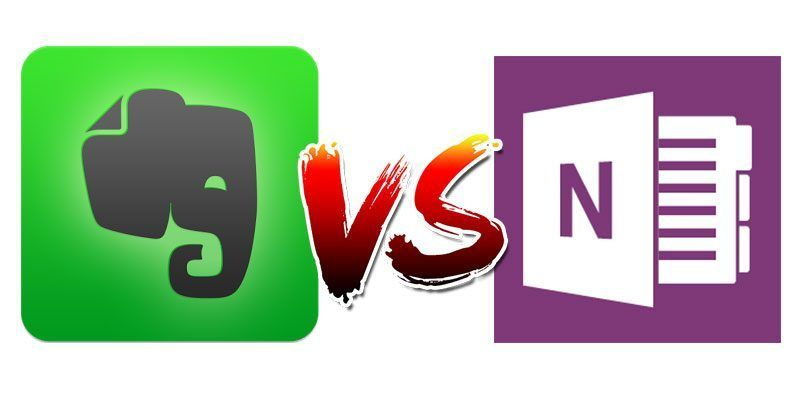 Evernote vs. OneNote Which Is Best for Your NoteTaking