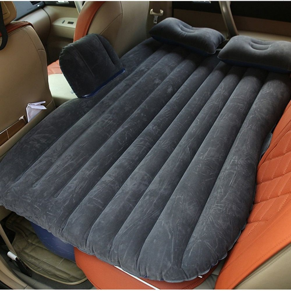 Large Size Durable Car Back Seat Cover Car Air Mattress Travel Bed