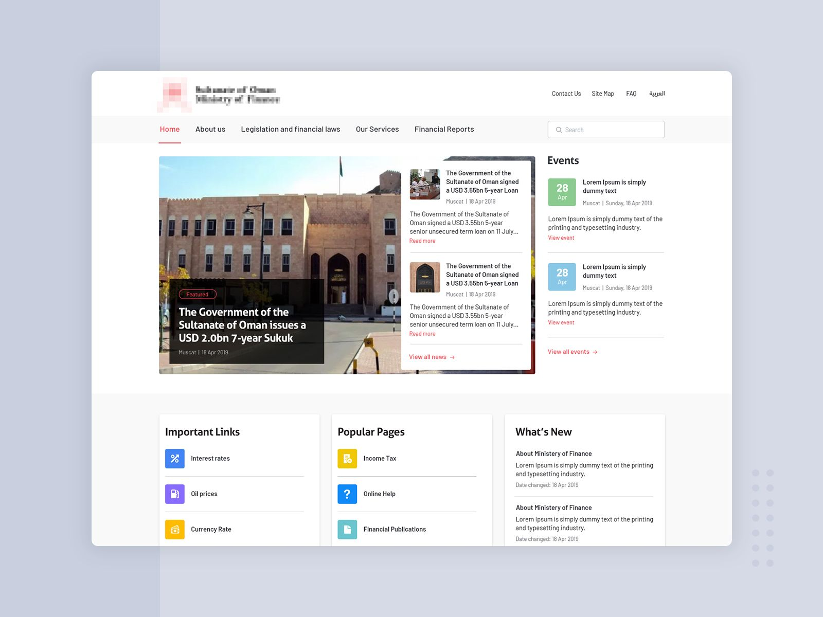 Hi there! 👋 Sharing the website design for a ministry we