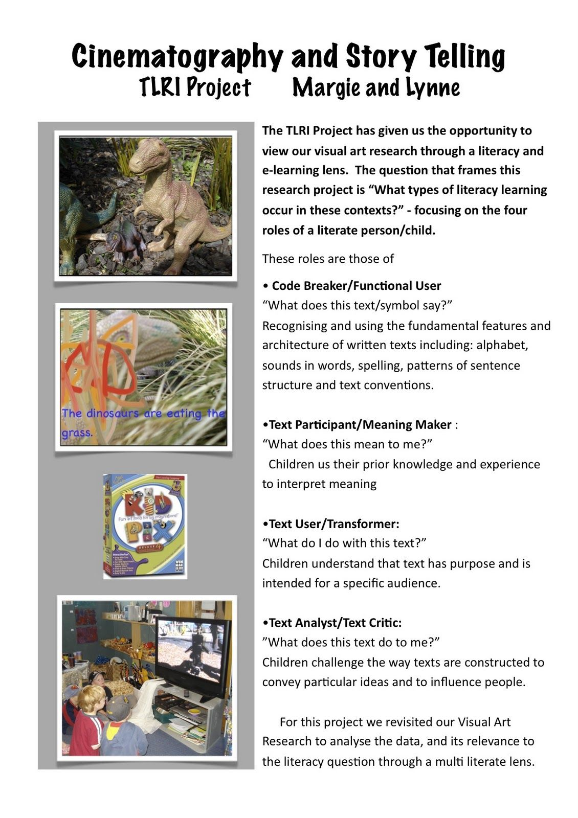The Learning Story Storie Example Children Early Childhood Education Research Paper Examples