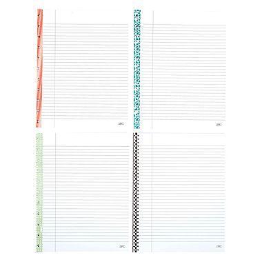 Arc System College Ruled Reinforced Filler Paper 8 5 X 11