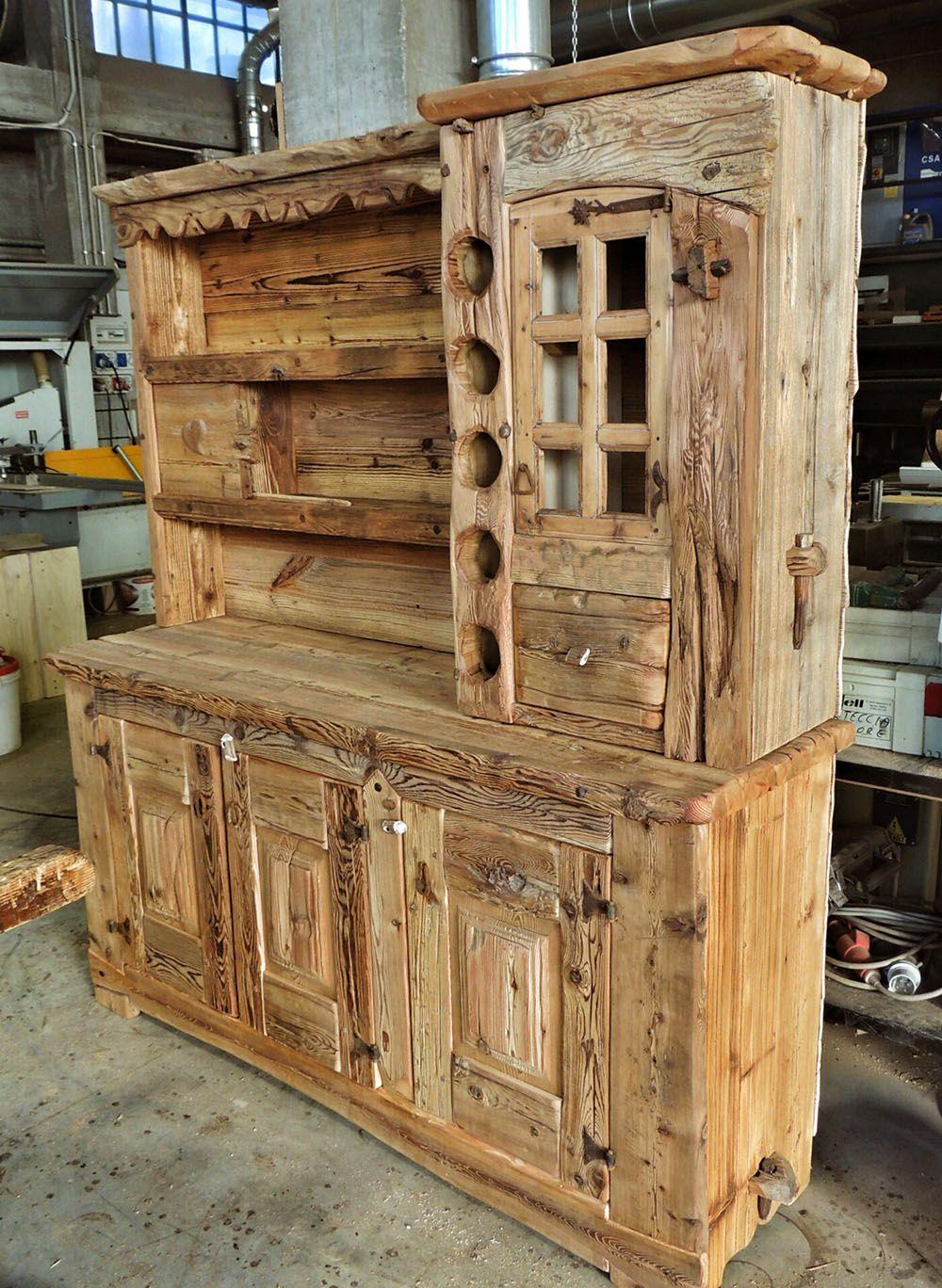 Falegnameria arlaud mobili in legno antico salbertrand for Arredamento in legno
