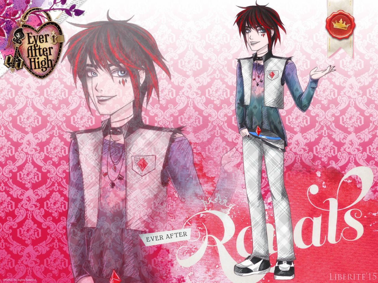 My new fan-character for Ever After High ^^ Harlie Errow, the son of Harlequin…