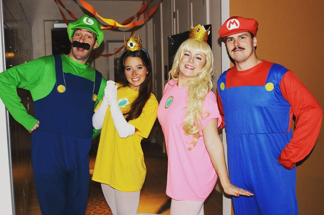 Drop These Amazing Group Halloween Costume Ideas in Your Group Chat Stat | Cute group halloween costumes, Mario halloween costumes, 4 people halloween costumes