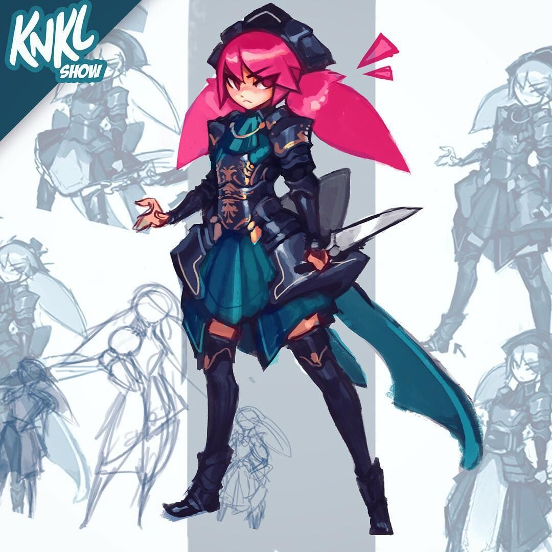 Let's develop some custom armor for our anime maid Mika on