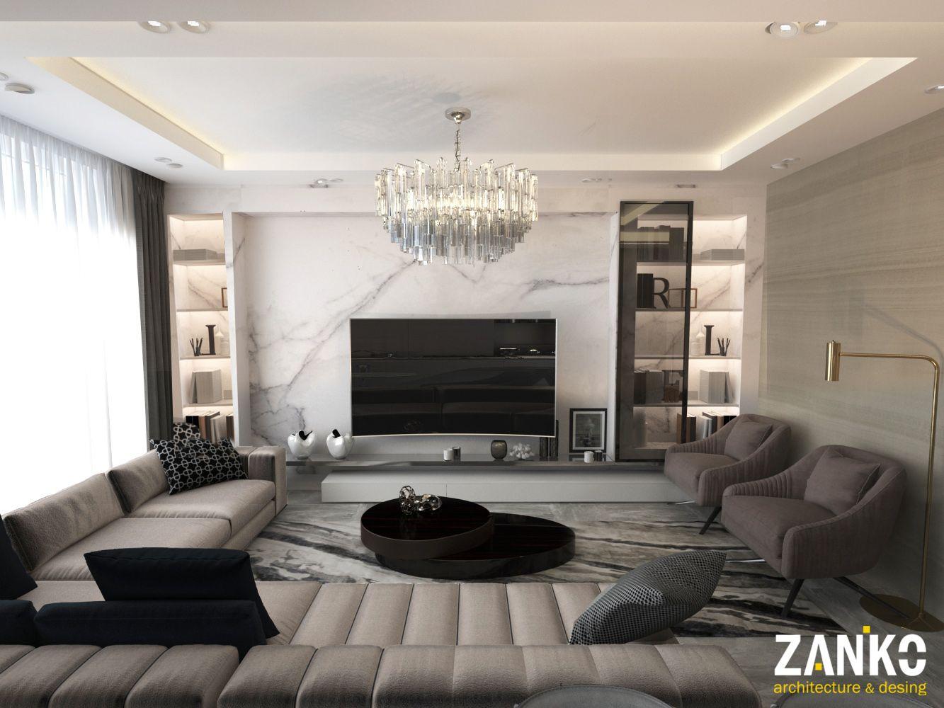 Armani Interior By Zanko Design On Behance Luxury Living Room Luxury Dining Room Modern Tv Room