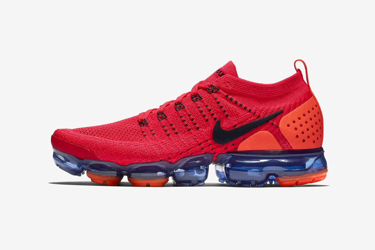 huge discount 98367 31558 ... reduced nike air vapormax flyknit 2.0 drops in fiery red orbit colorway  nike 8c397 a0e05