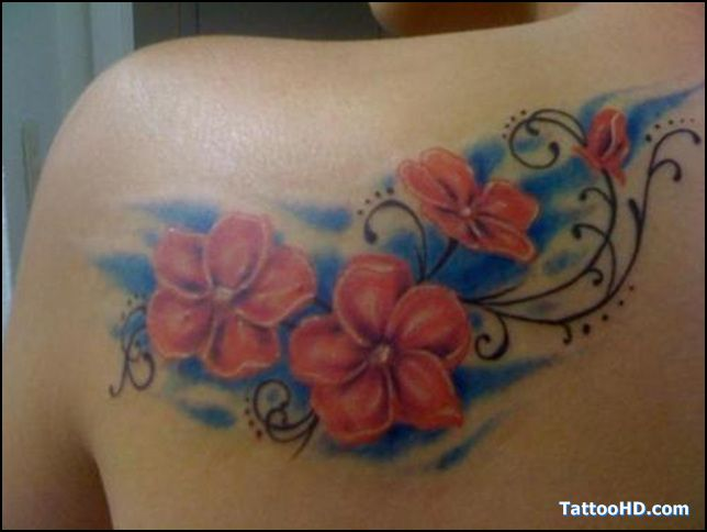 December Birth Flower Tattoo Black And White: September Birth Flower Tattoos , Flower Tattoos
