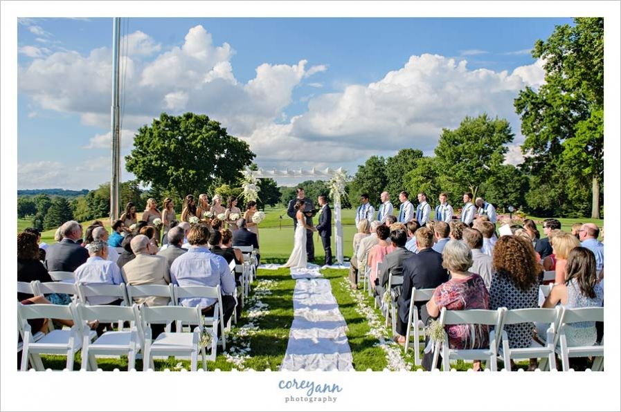 outdoor wedding ceremony sites in akron ohio%0A wedding ceremony outside in june in canton ohio   Weddings at Brookside  Country Club   Pinterest   Wedding ceremonies  Country club wedding and  Canton ohio