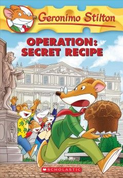 In Milan To Attend The Unveiling Of A Parchment That Contains Original Recipe For Traditional Holiday Bread Geronimo Stilton Is Shocked When Thief