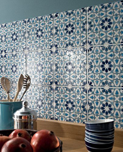 Design Of Kitchen Wall Tiles: Tiles From Fired Earth