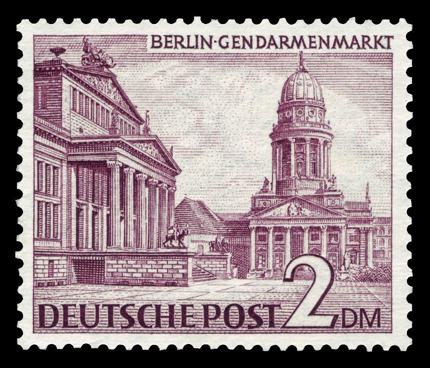 DBPB 1949 Berliner Bauten BriefmarkenJahrgang 1949 der