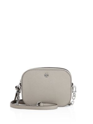 61e6040ed0b TORY BURCH Robinson Round Saffiano Leather Crossbody Bag.  toryburch  bags  shoulder  bags  leather  crossbody