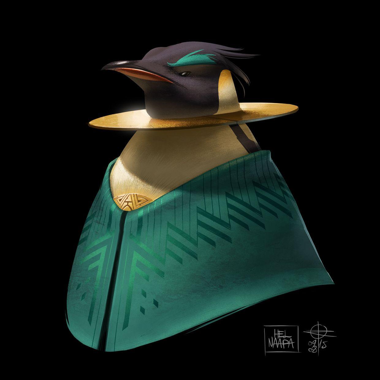Color design ofHel Naapa renaud roche