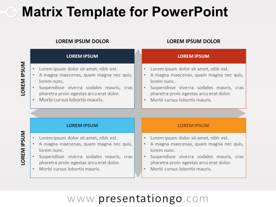 Matrix Template For Powerpoint Presentationgo Com Powerpoint Templates Powerpoint Business Powerpoint Templates