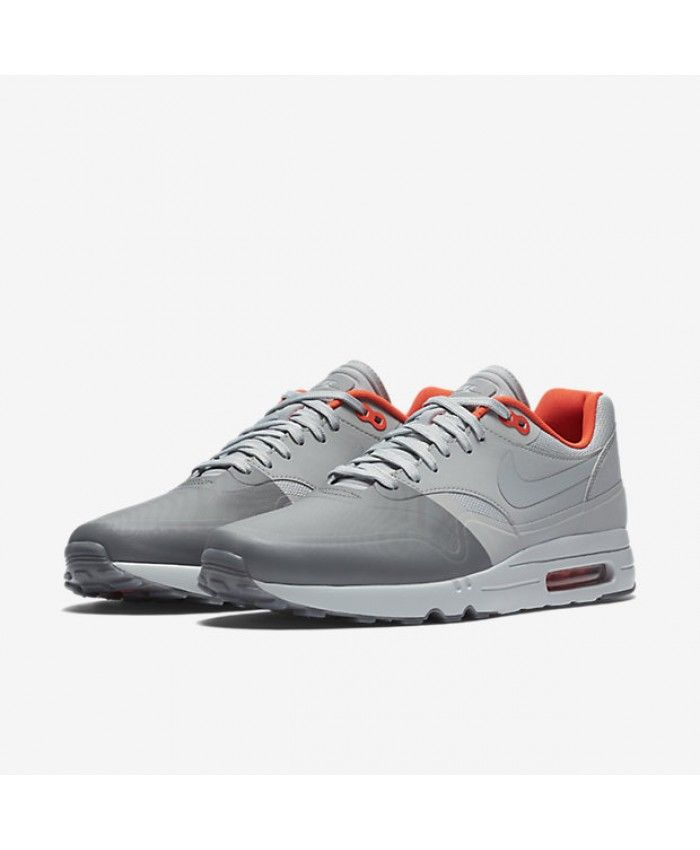 Nike Air Max 1 Ultra 2.0 SE Dark Grey/Wolf Grey/Bright Crimson Mens
