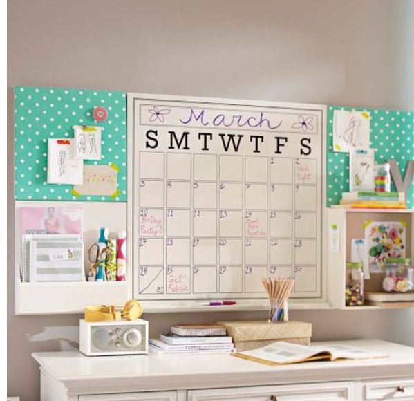 Easy DIY - Such a cute work area! Decorate Your Space Pinterest