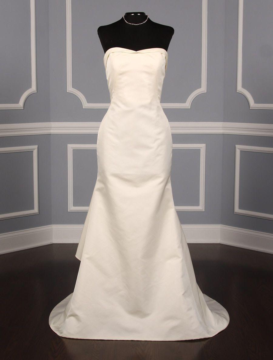 Wedding dress with bow on back  Austin Scarlett Gentry AS Wedding Dress  Wedding dress Austin