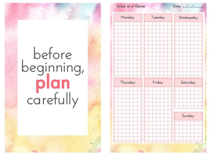planner bits free planner divider and planners