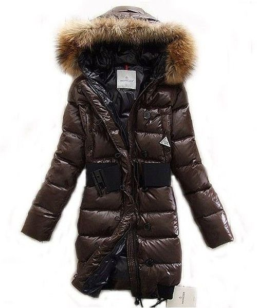 b333ab53aca Moncler LUCIE New Women Pop Star Brown Coat Down! Only $286.9USD ...