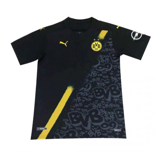 20 21 Borussia Dortmund Away Black Soccer Jersey Shirt Cheap Soccer Jerseys Shop In 2020 Soccer Jersey Jersey Shirt Soccer Shirts
