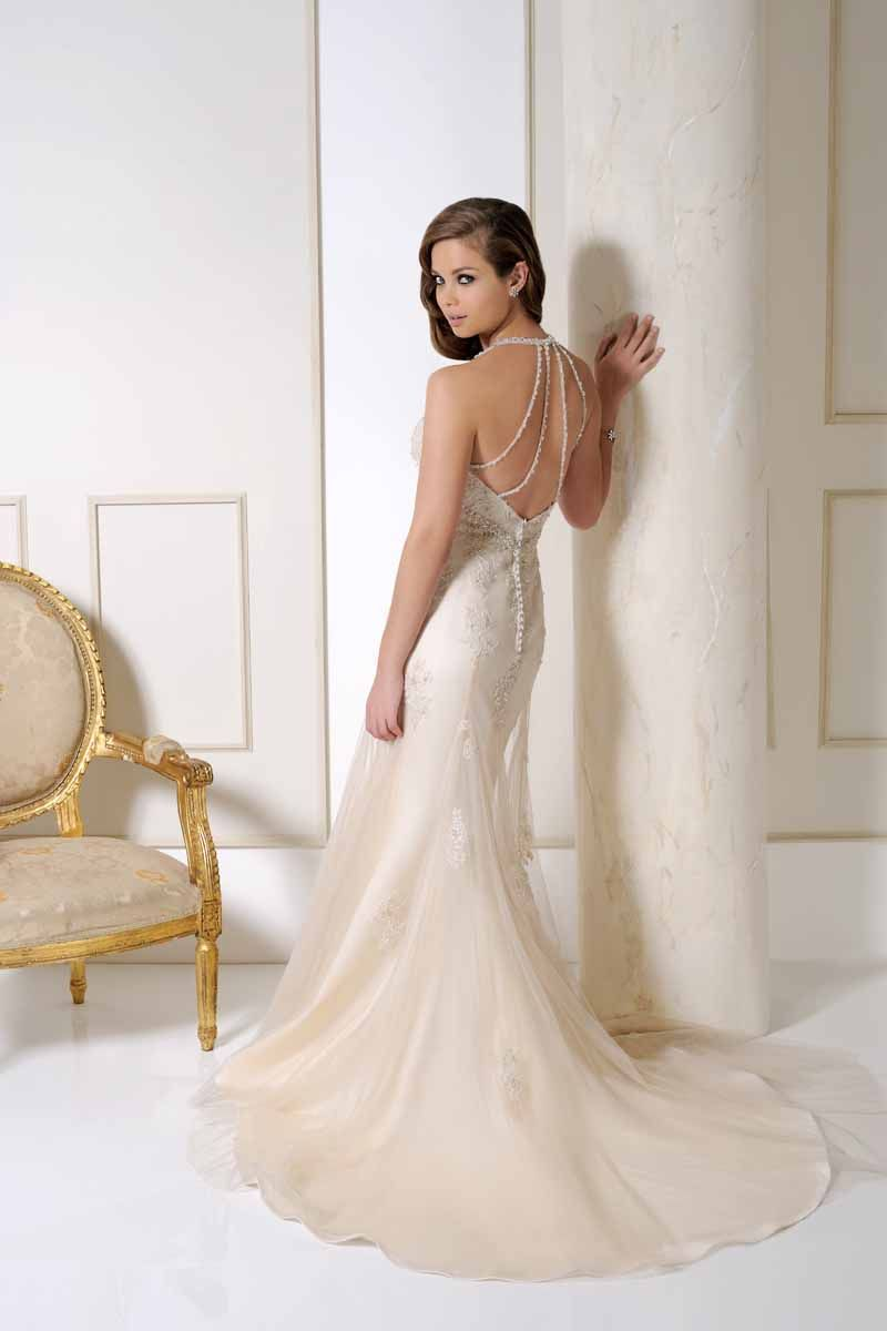 Benjamin Roberts Wedding Dress Style 2506 Back At Belles Of Otley In Blush