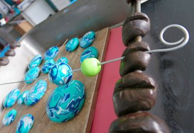 HeArtfully Creating: MY POLYMER CLAY JOURNEY: MY DIY BEAD BAKING RACK and The AMACO BEAD BAKING RACK with SUGRU