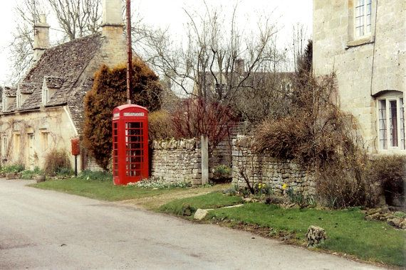 Red Telephone Booth  Pay Phone  Rural by ItalianGirlinGeorgia, $30.00