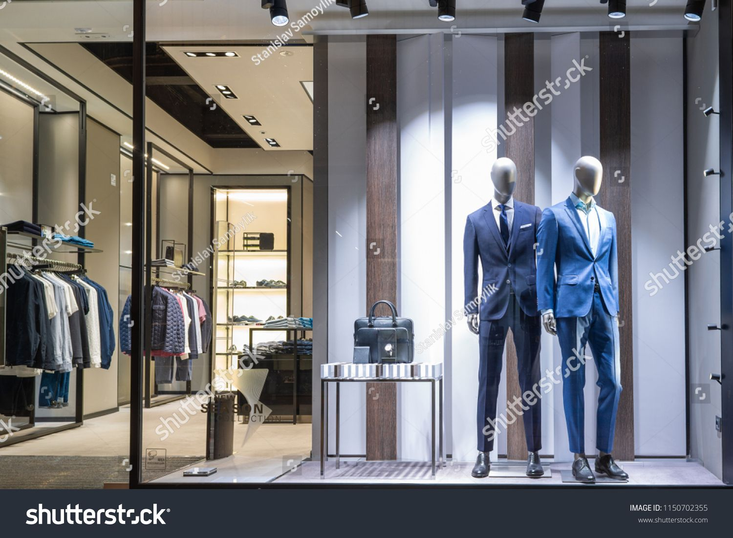 Verona Italy May 2017 Men Luxury Clothing Shop Hugo Doss Men Verona Italy Luxury Verona Italy Luxury Outfits Shopping Outfit
