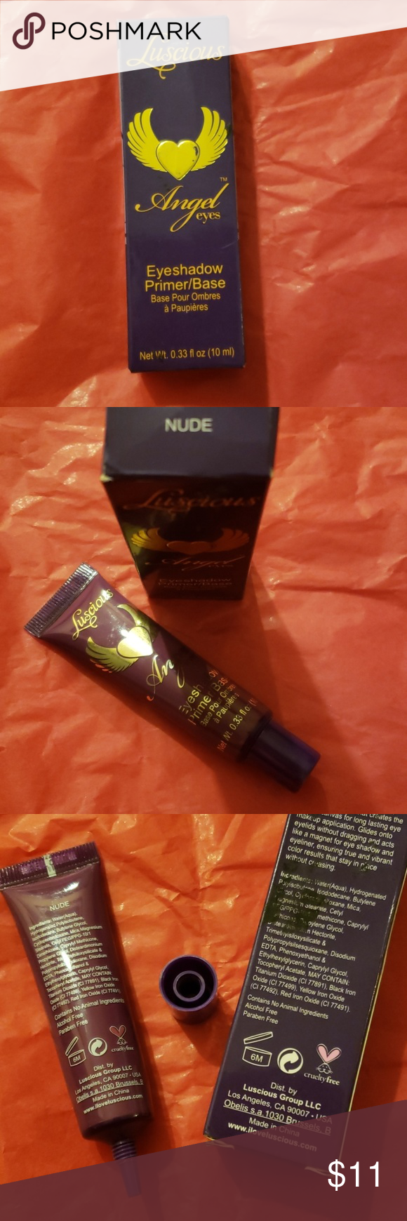 Angel Eyes Nude Pics luscious angel eyes luscious angel eyes eyeshadow primer