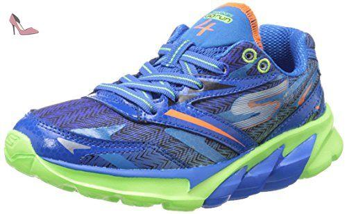 Skechers Gon run 4 jr Chaussures running mode, Bleuvert
