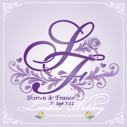 Logo design for Sheena & Franco