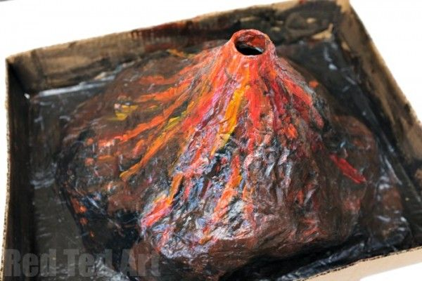 Science Fair Project . Create your own Erupting Volcano. A great classic science project for kids. Lots of fun and easy to make.