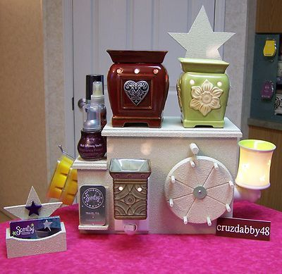 Wheel N More Display For Scentsy Partylite Plug In Warmer
