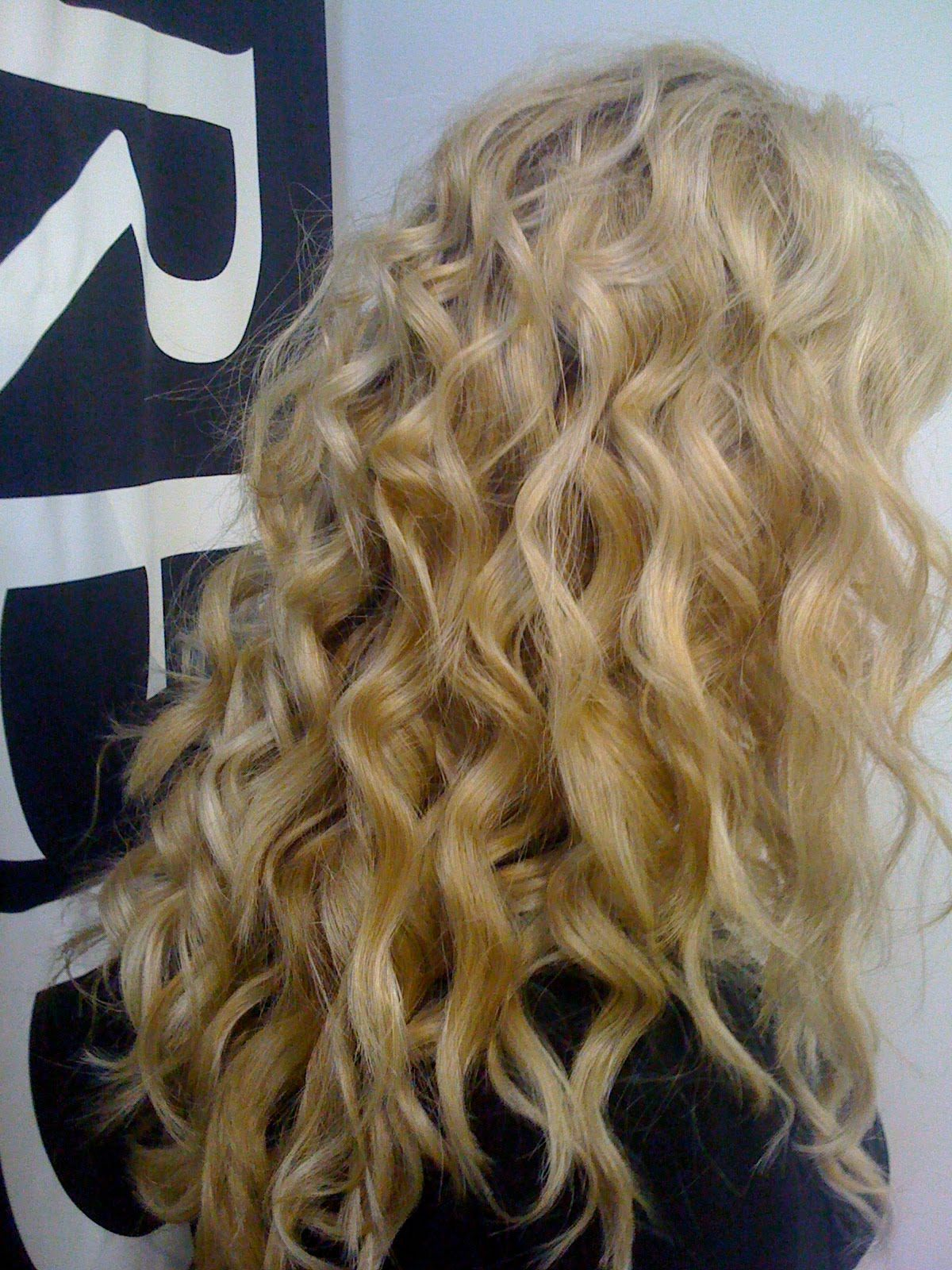 beach wave curls | are the amazing curls that my new conair conical wand create the curls ...