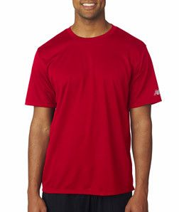 New Balance® Men's NDurance® Athletic T-Shirt NB7118 Cherry Red