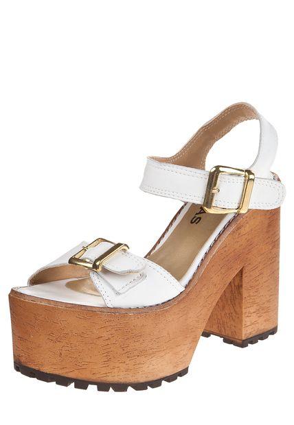 9661a8f3 Sandalia Blanca Heyas Rimini | Calzado para mujer | Sandalias ...