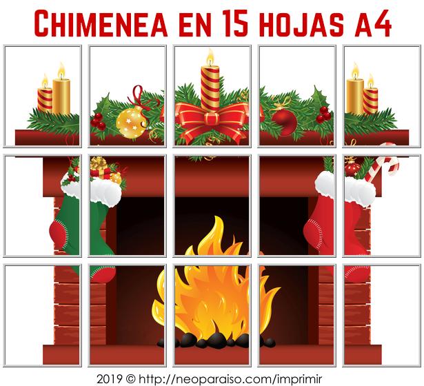 Pdf De Rompecabezas Grande Del Chimenea Navidena Moldes Navidenos Para D Decoracion De Chimeneas Navidenas Murales De Navidad Dibujos De Navidad Para Imprimir
