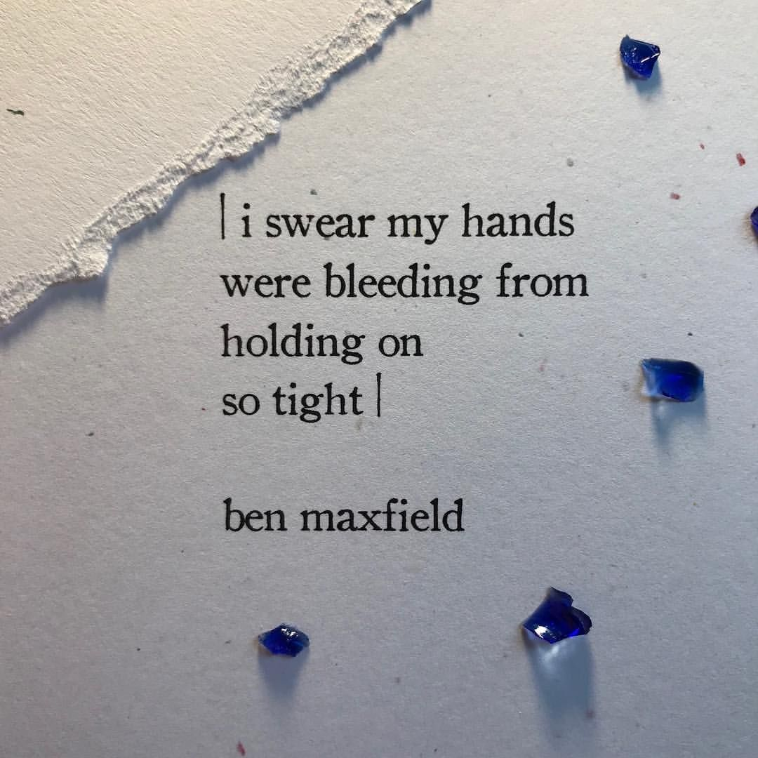 held on until i couldn't✨ . . #benmaxfield ##justlifequotes