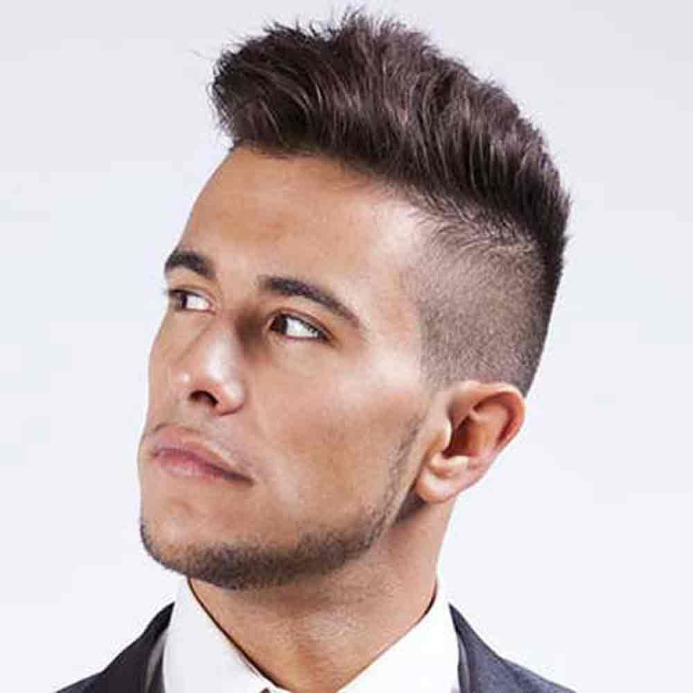 Mens haircut short on sides precision hair plus provide best hair supplies in sydney special