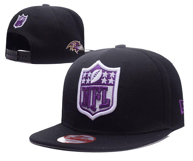 e200964e170 Men s Baltimore Ravens New Era NFL Team Shield Logo Embroidery 9FIFTY  Snapback Cap - Black