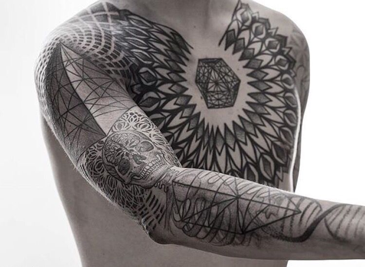When Did Geometry Tattoos Start: Pin By FrescO On Tatts (With Images)