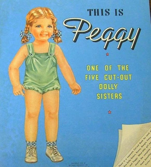 This is Peggy 1939 Paper Doll.I Got This From Ebay - MaryAnn - Álbumes web de Picasa