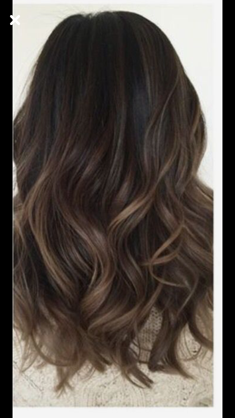 Brunette Brown Hair Balayage Balayage Hair Hair Color